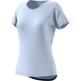 adidas TERREX TrailX T-shirt Dames, aero blue